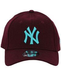 KTZ Mlb Melton 9forty Baseball Hat - Red