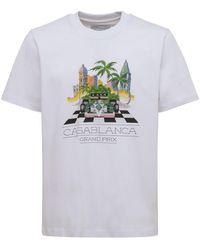 CASABLANCA Casa Sport Tシャツ - ホワイト