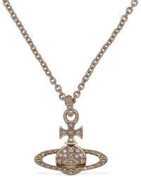 Vivienne Westwood Mayfair Pendant Necklace - Metallic