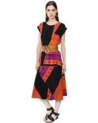 Nehera | Layered Printed Silk Crepe Dress | Lyst