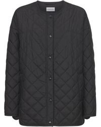 Designers Remix Braga Over Quilted Recycled Nylon Jacket - Black