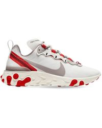 "Nike Sneakers ""react Element 55"" - Rot"