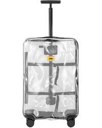 Crash Baggage 65l Transparenter 4-rollen-troley - Mettallic