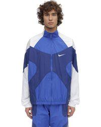 Nike Re-issue Woven Jacket - Blau