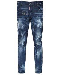 DSquared² Tidy Biker コットンデニムジーンズ 17cm - ブルー