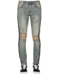 """SERENEDE Jeans """"Hov Lane"""" In Denim Destroyed - Blu"""