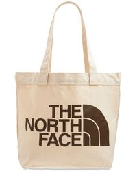 The North Face コットントートバッグ - ナチュラル