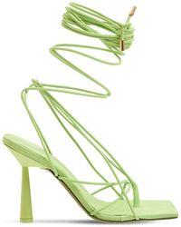 GIA X RHW Sandalias Rosie 6 Engomadas Con Tiras - Verde