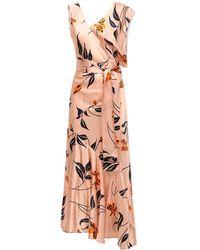 Marni Floral アシンメトリードレス - マルチカラー