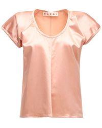 Marni コットンブレンドシャツ - ピンク