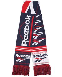 Reebok Cl Graphic Scarf Acc A マフラー - レッド