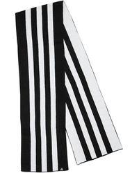 adidas Originals 3 Stripes マフラー - ブラック