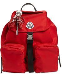 Moncler Рюкзак Из Нейлона - Красный