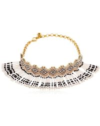 Shourouk | Mambo Beaded Choker | Lyst