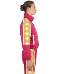 Kappa - Alyson Cropped Puffer Jacket - Lyst
