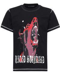 United Standard Dog コットンジャージーtシャツ - ブラック