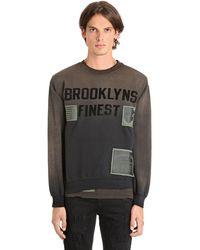 MadeWorn Brooklyns コットンスウェットシャツ - グレー