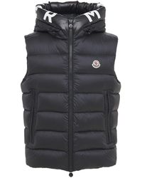 Moncler - Montreuil ダウンベスト - Lyst