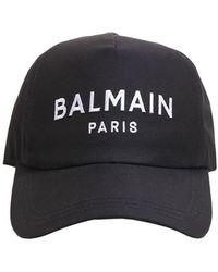 Balmain - コットンツイルキャップ - Lyst