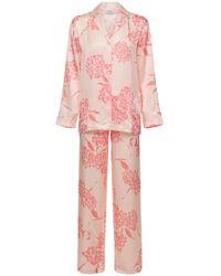 La Perla Пижама С Принтом - Розовый