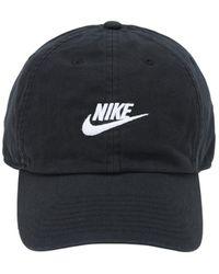 "Nike Kappe Aus Baumwolle ""heritage86"" - Schwarz"