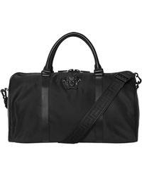 Versace Medusa Nylon Duffle Bag - Black