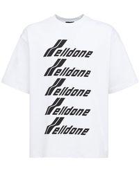 we11done コットンジャージーtシャツ - ホワイト