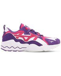 """Mizuno Sneakers """"wave Rider 1s"""" - Lila"""