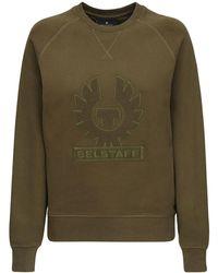Belstaff - コットンスウェットシャツ - Lyst