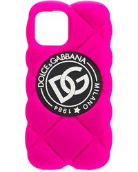 Dolce & Gabbana - Dg キルテッド Iphone 12 Max ケース - Lyst