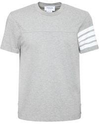 Thom Browne コットンジャージーtシャツ - グレー