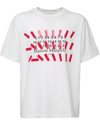 Maison Margiela Regular コットンtシャツ - ホワイト