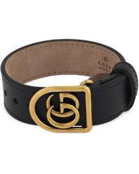 Gucci Gg Marmont Leather Belt Bracelet - Mehrfarbig