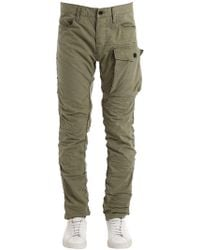 G-Star RAW - Tendric 3d Tapered Cotton Cargo Trousers - Lyst