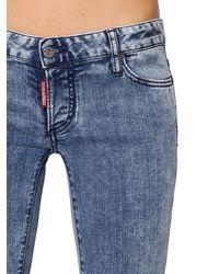 "DSquared² Jeans Aus Baumwolldenim ""jennifer"" - Blau"
