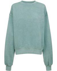 Reebok Classic Cotton Blend Sweatshirt - Blue
