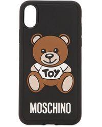 Moschino IPhone Cases - Schwarz