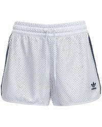 adidas Originals Mesh Shorts - Grey