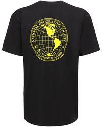 "Vans T-shirt ""national Geographic Jersey"" - Schwarz"