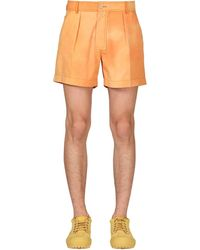 Jacquemus Batikshorts Le Short Tennis - Orange