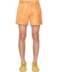 Jacquemus Le Tennis Shorts - Orange