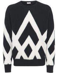 Moncler Suéter De Lana - Negro