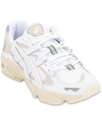 "Asics Sneakers Aus Leder Und Wildleder ""kayano 5 Og"" - Weiß"