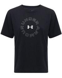 Under Armour Live Fashion コットンブレンドtシャツ - ブラック