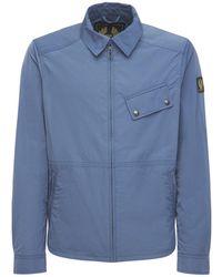 Belstaff Куртка Из Нейлона - Синий