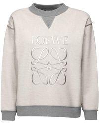 Loewe コットンジャージースウェットシャツ - イエロー