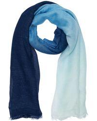 Faliero Sarti Modal Blend Scarf - Blue