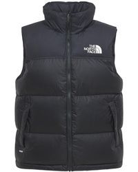 "The North Face Nupstedaunenweste Aus Nylon ""1996 Retro"" - Schwarz"