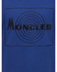 Moncler - コットンジャージーtシャツ - Lyst