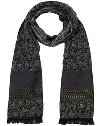 Etro - Paisley Linen & Silk Jacquard Scarf - Lyst